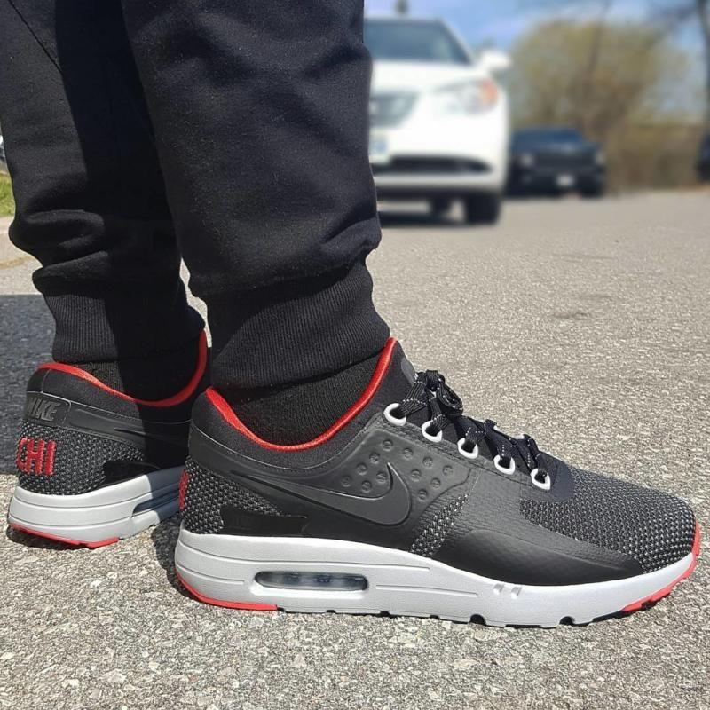 Bred Air Jordan 4 x Nike Air Max Zero iD (4)