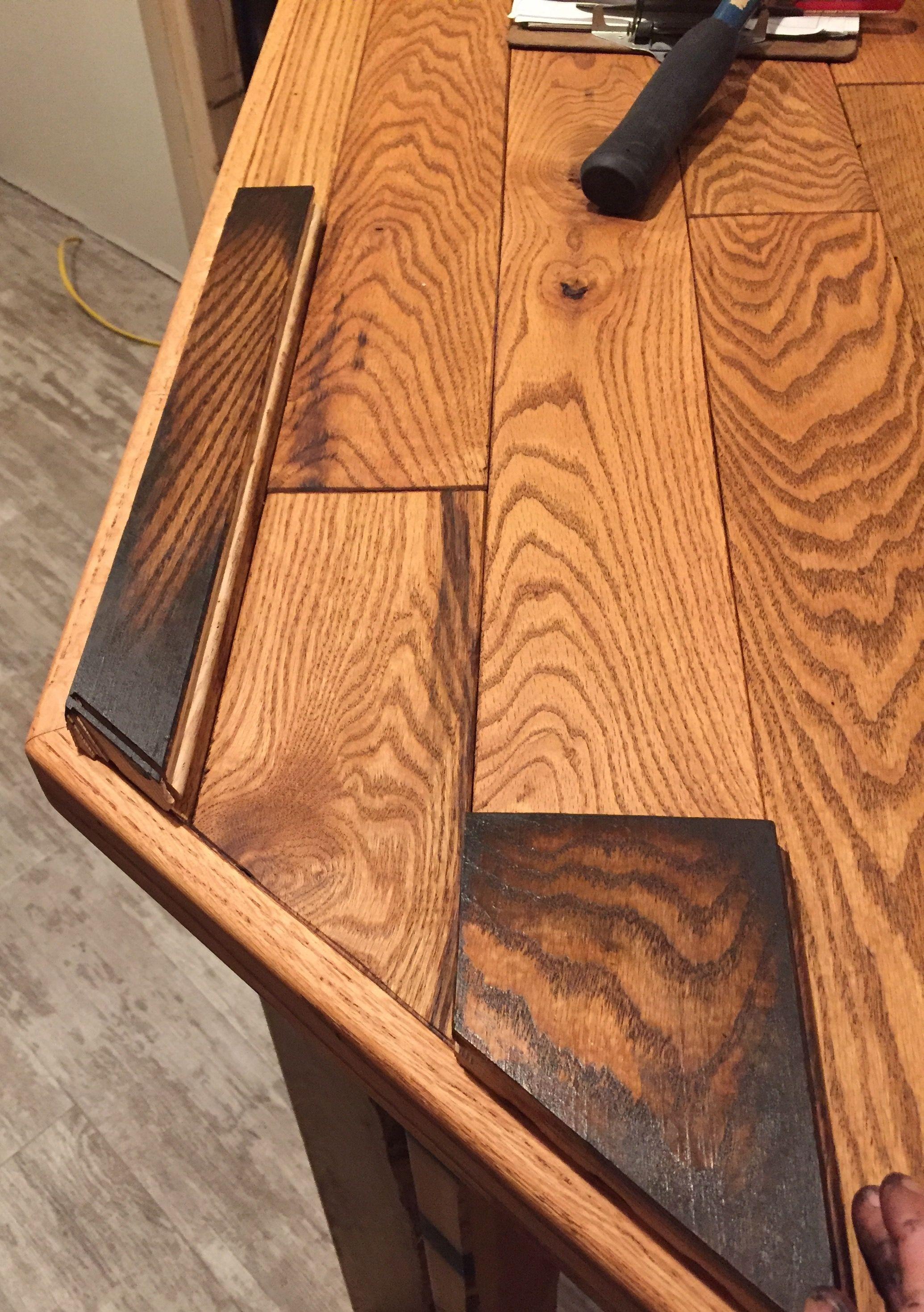 Oak Bar Top Finish Ideas Bar Top Oak Remodel