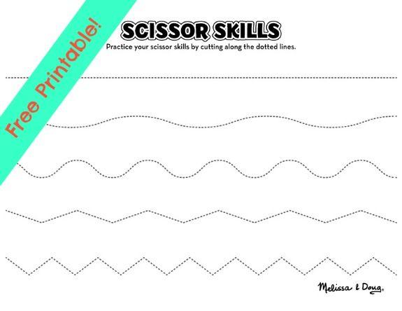 Scissor Skills Activities for Kids - 2 Printables | Scissor skills ...