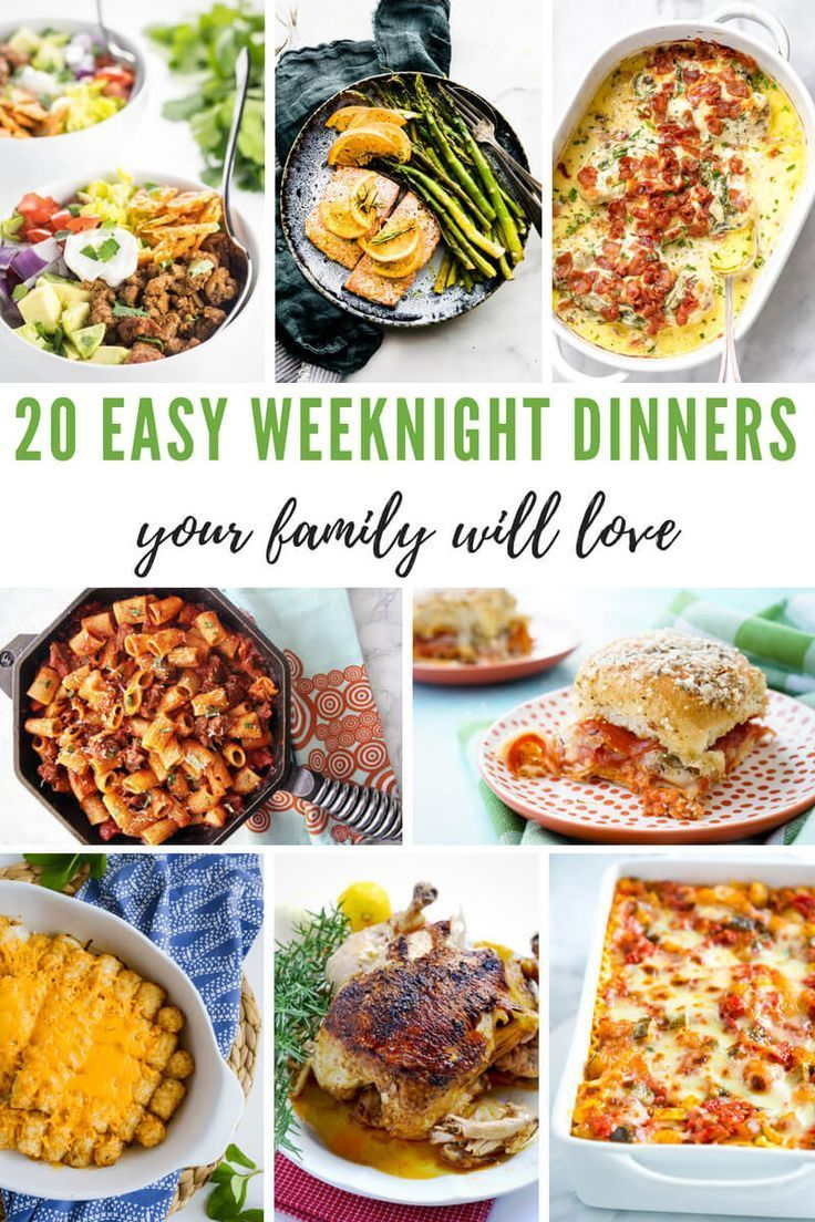 Easy Weeknight Dinners Your Family Will Love images