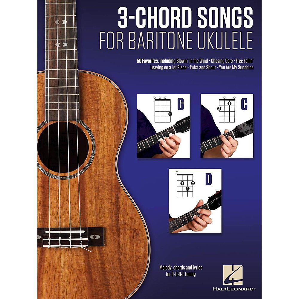 Hal leonard 3 chord songs for baritone ukulele g c d products hal leonard 3 chord songs for baritone ukulele g c d hexwebz Images