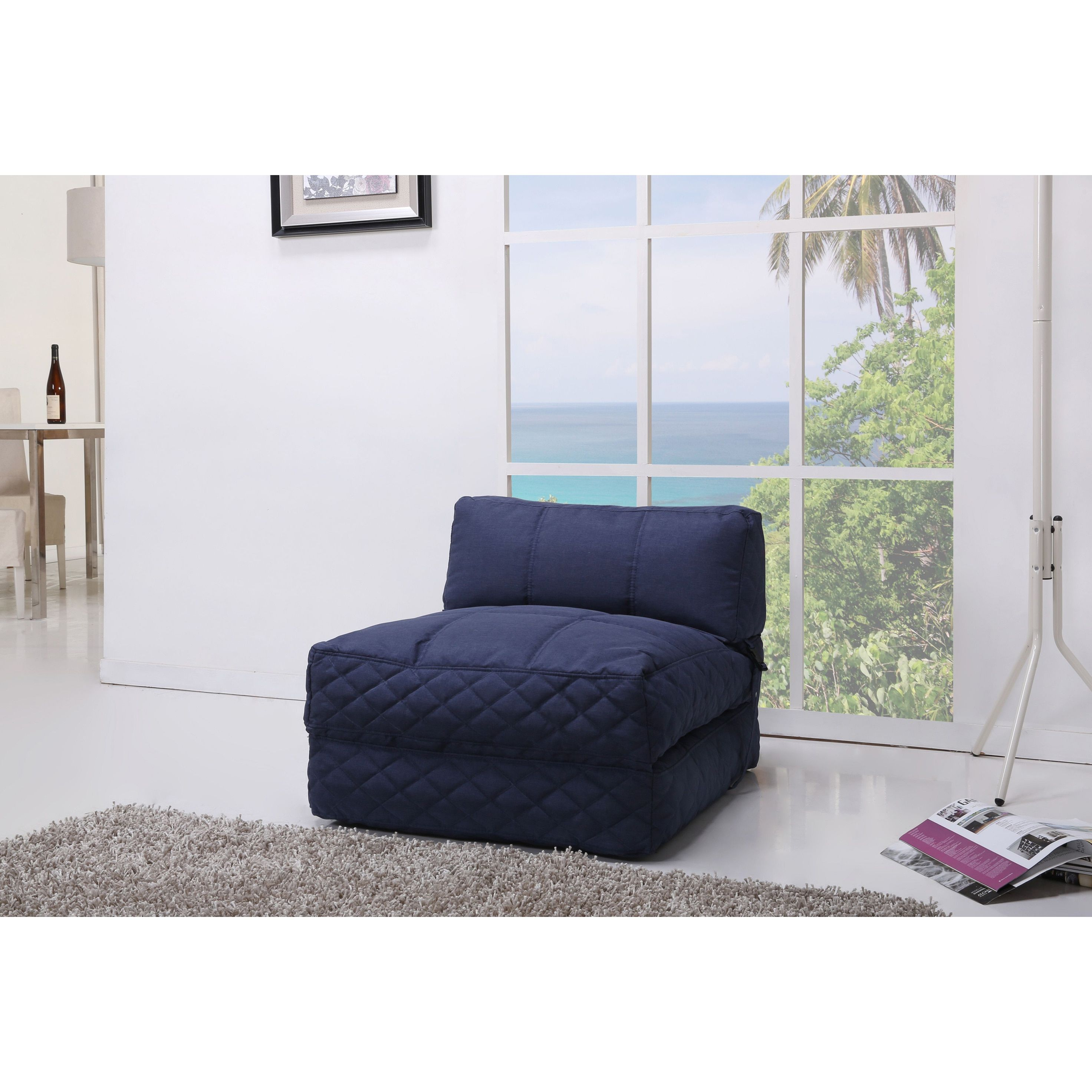 Tremendous Austin Blue Bean Bag Chair Bed In 2019 Products Unemploymentrelief Wooden Chair Designs For Living Room Unemploymentrelieforg