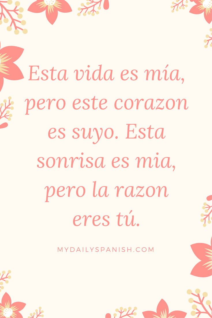10 Beautiful Spanish Love Quotes that will Melt Your Heart ...