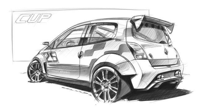 twingo rs cup sketch sketch pinterest sketches car sketch and cars. Black Bedroom Furniture Sets. Home Design Ideas