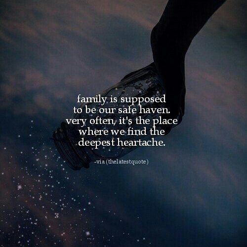 Image result for Family is meant to be our safe haven