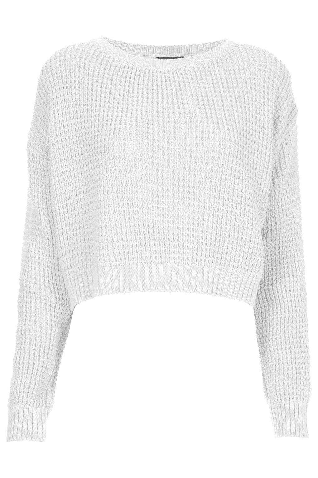 Knitted Textured Crop Jumper $45.00 | Closet | Pinterest | Cropped ...