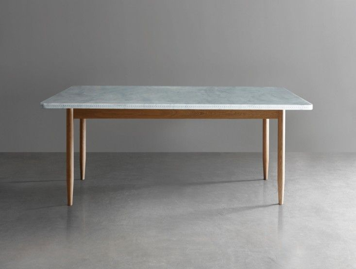 Marvelous 10 Easy Pieces: Marble Top Dining Tables