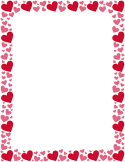 Free Page Borders And Frames Page 6 Pink Heart Heart Border Borders And Frames