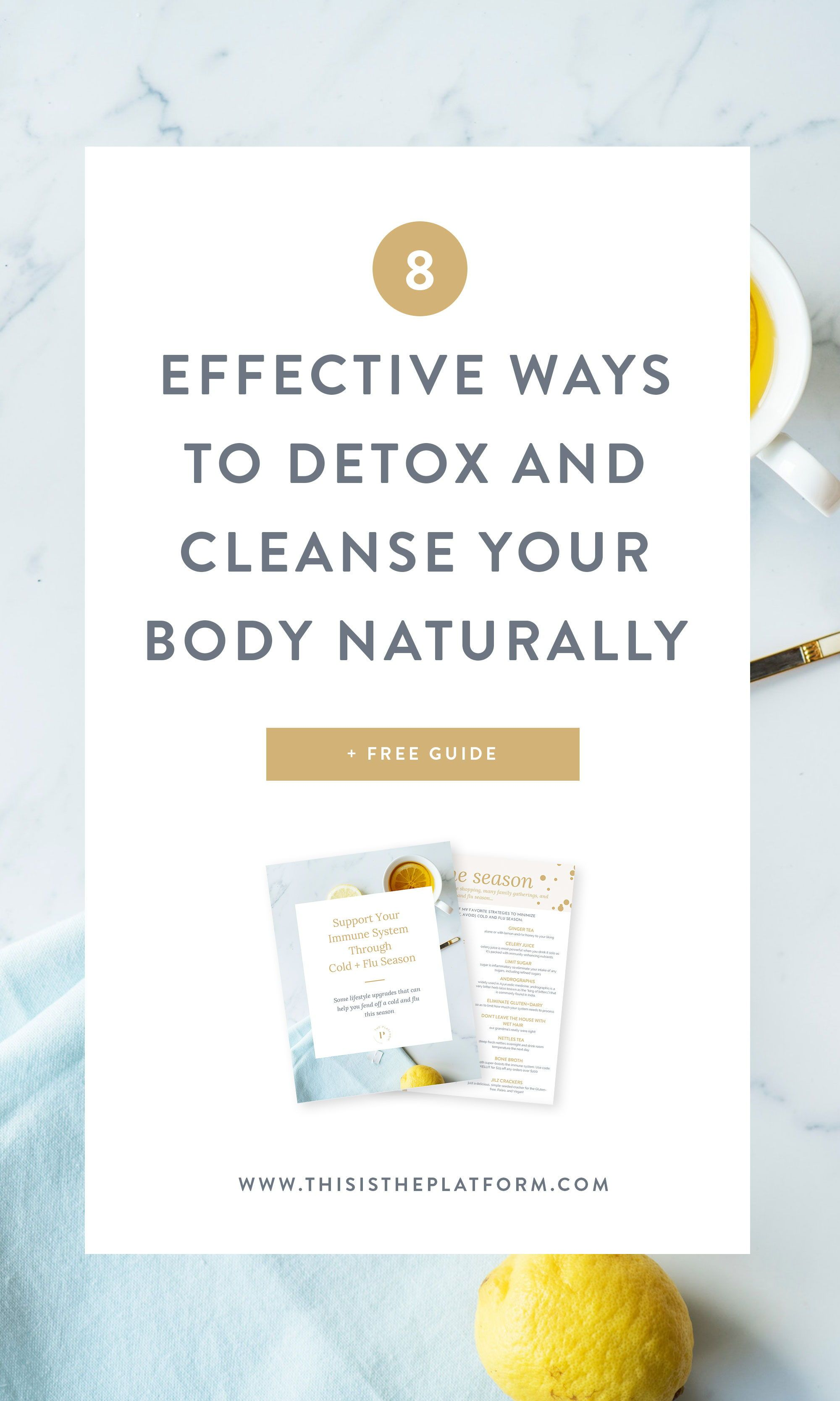 8 Effective Ways to Detox Your Body Naturally   Self Care