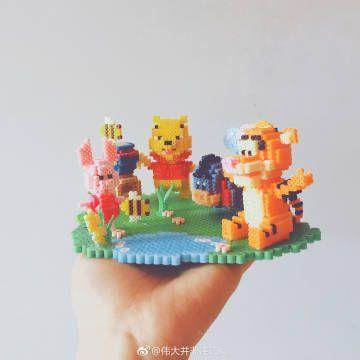Ses Creative 06126 Bugelperlenset 3d Tiere Amazon De Spielzeug