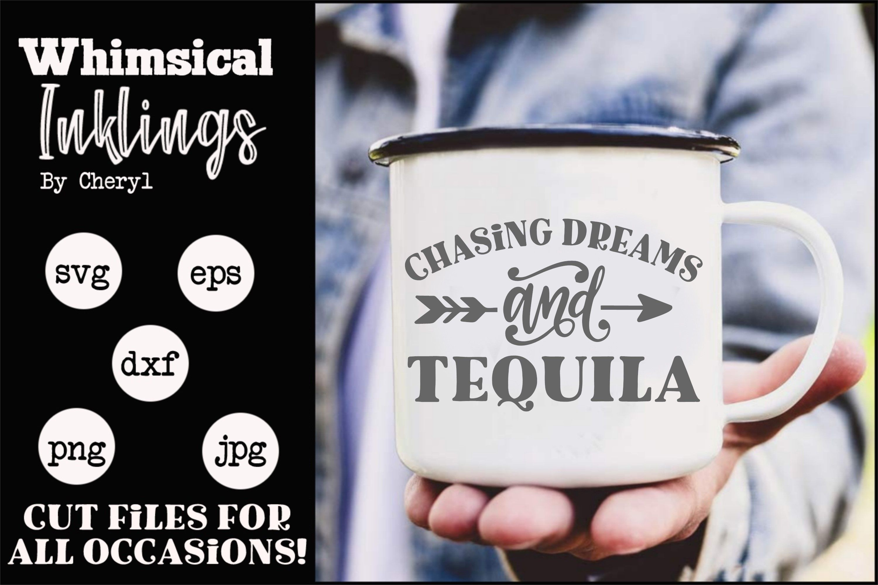Chasing Dreams And Tequila Svg In 2020 Chasing Dreams Svg Tequila