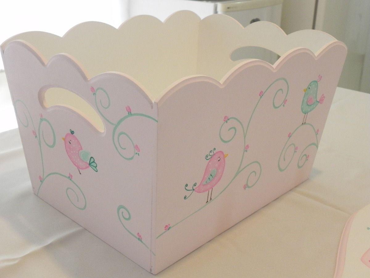 Cajas de madera pintadas a mano para bebes buscar con - Cajas decoradas para bebes ...