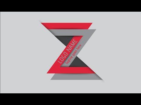Illustrator Tutorial | Logo Design (Zee) - YouTube