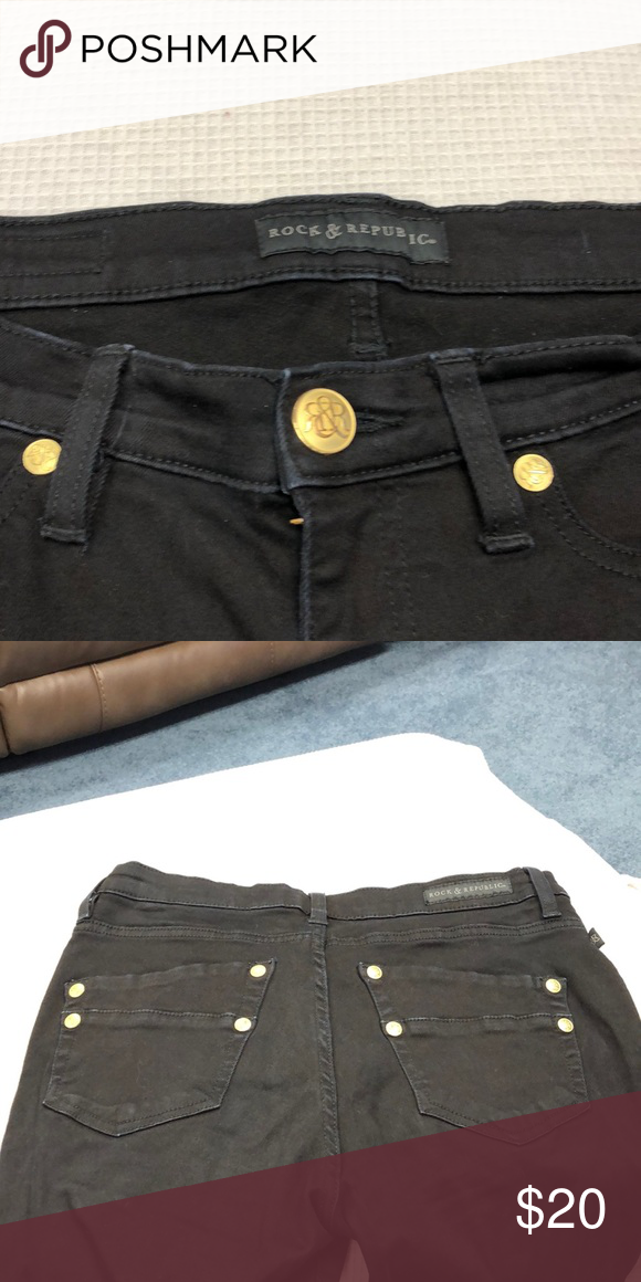 b6e01b05 Ladies Rock Republic jeans Rock Republic dark wash skinny jeans Rock &  Republic Jeans Skinny