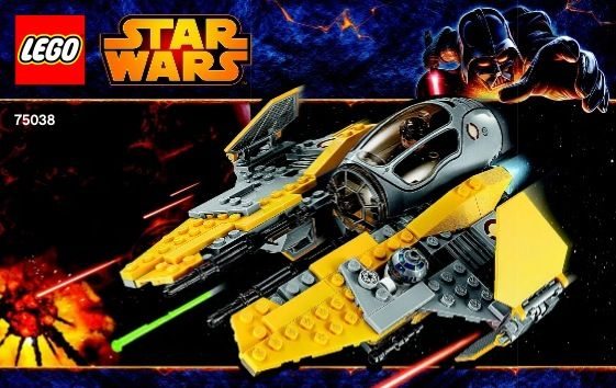 View Lego Instructions For Jedi Interceptor Set Number 75038 To Help