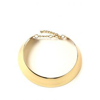 4b8e8e3a7068 Collar tipo gargantilla dorado en 2019