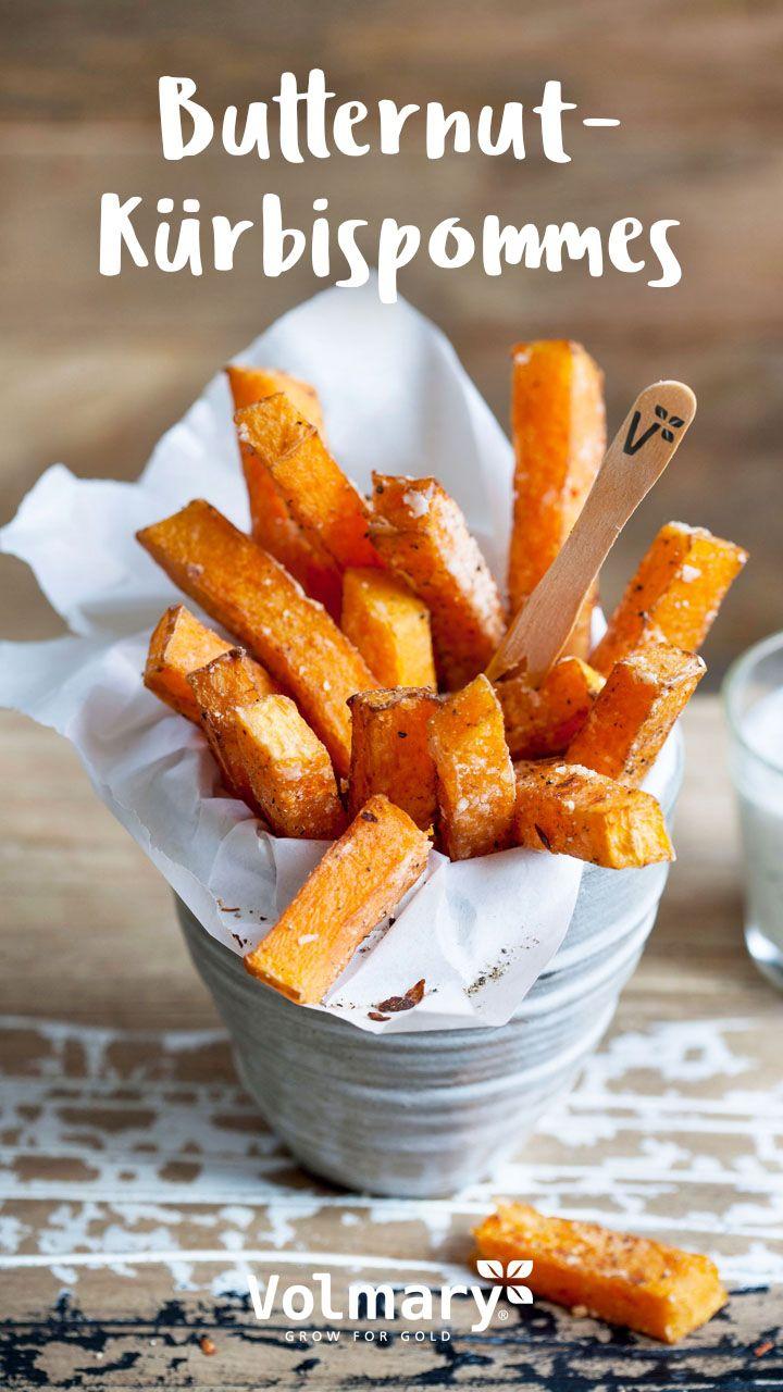 Kürbisrezept: Butternut-Kürbispommes