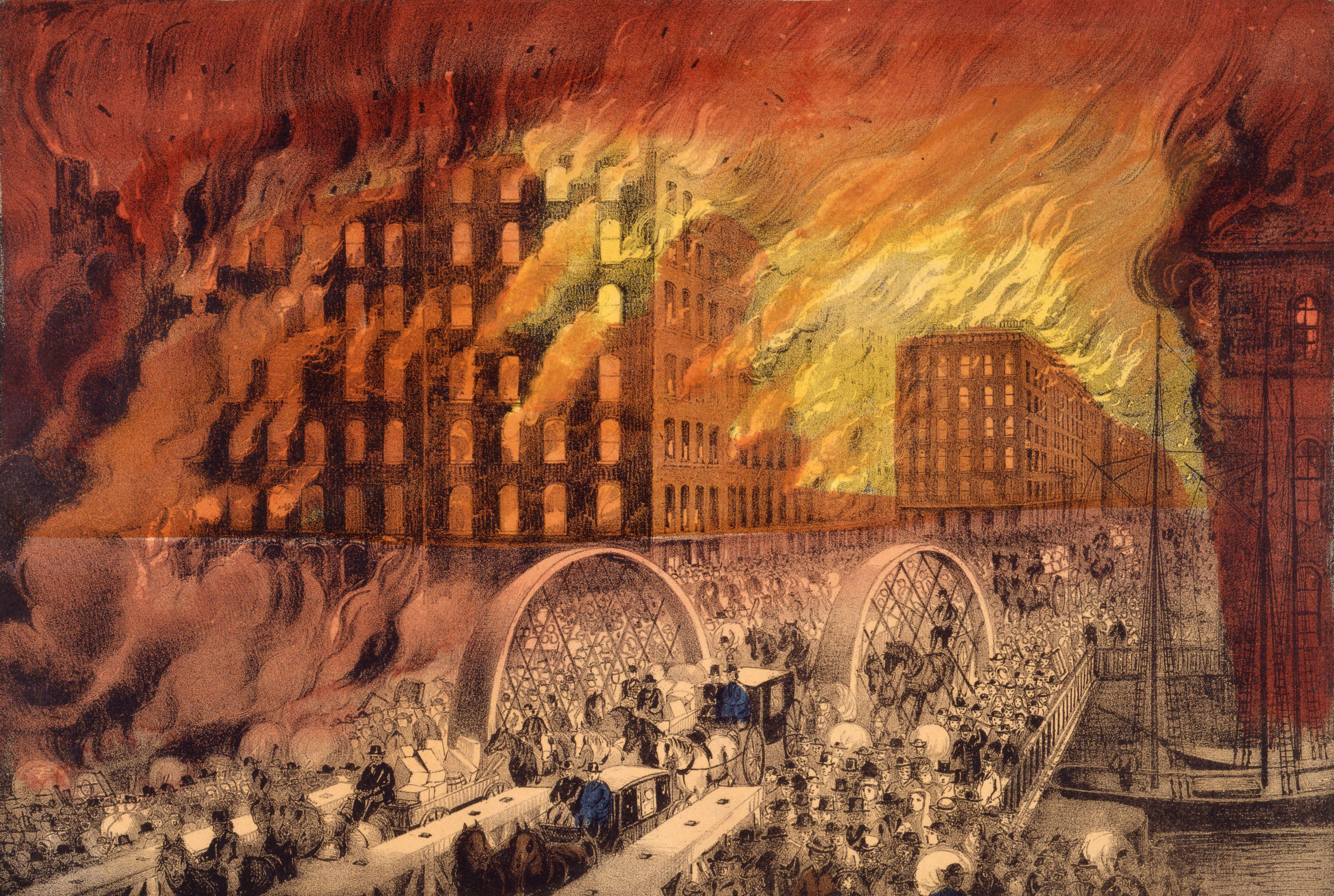 This Day In History The Great Chicago Fire Of 1871 Chicago Fire