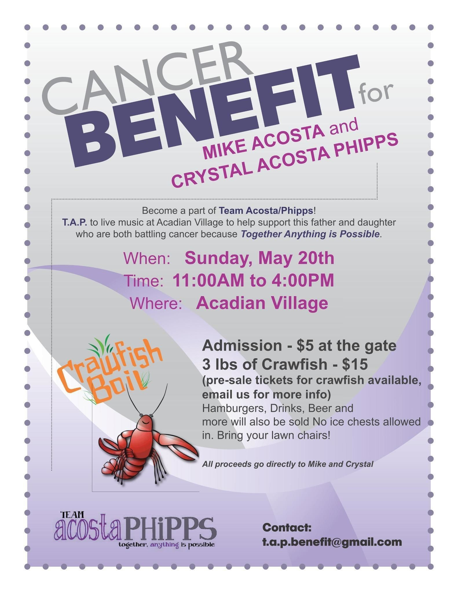 Cancer Benefit Flyer Template Mel Board Pinterest