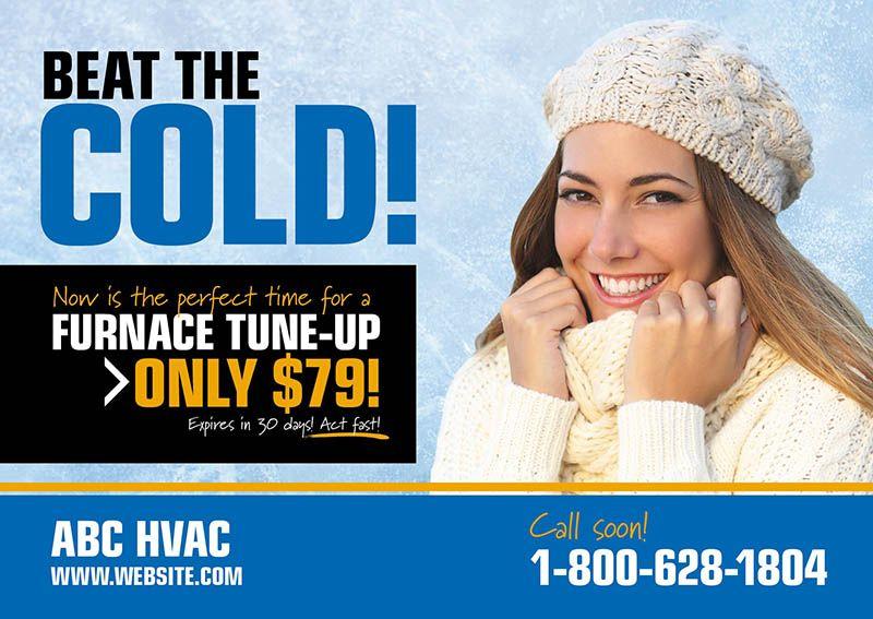 Hvac Direct Mail Postcard Marketing Ideas By Postcardmania Com Hvac Heating And Air Conditioning Air Care