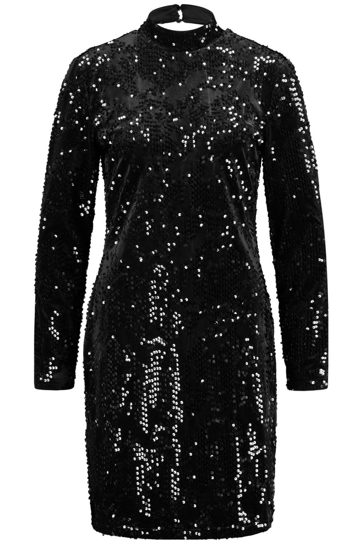 funkelnder auftritt: silvesterkleid | pailletten kleid