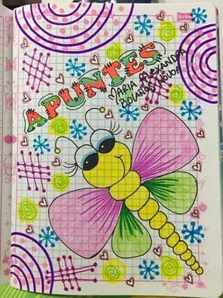 Portadas A Mano Imagenes Para Marcar Cuadernos Cuadernos