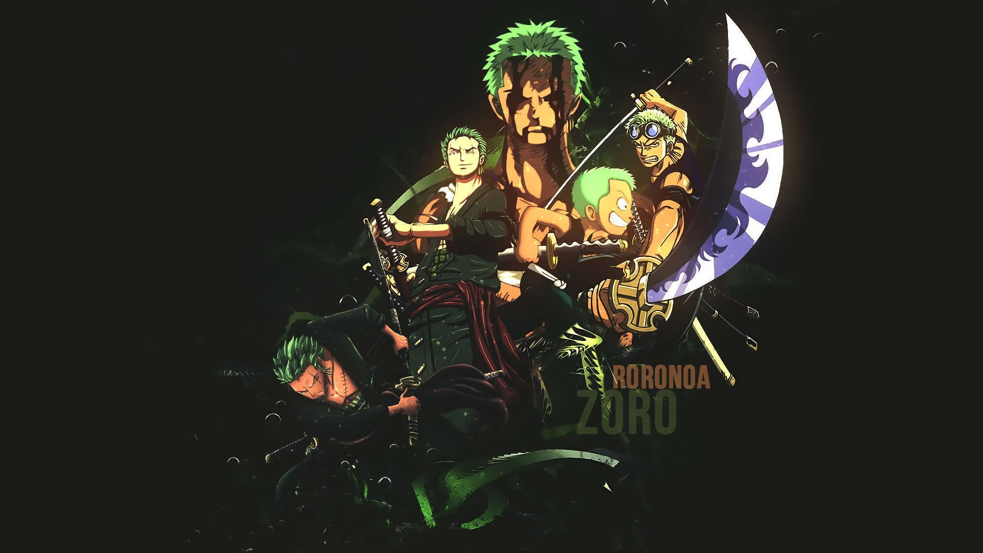 One Piece Zoro Hd Wallpapers Wallpaper Backgrounds Zoro