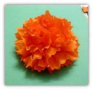How To Make Carnation Flowers Using Tissue Paper Art Platter Paper Flowers Tissue Paper Flowers Carnation Flower