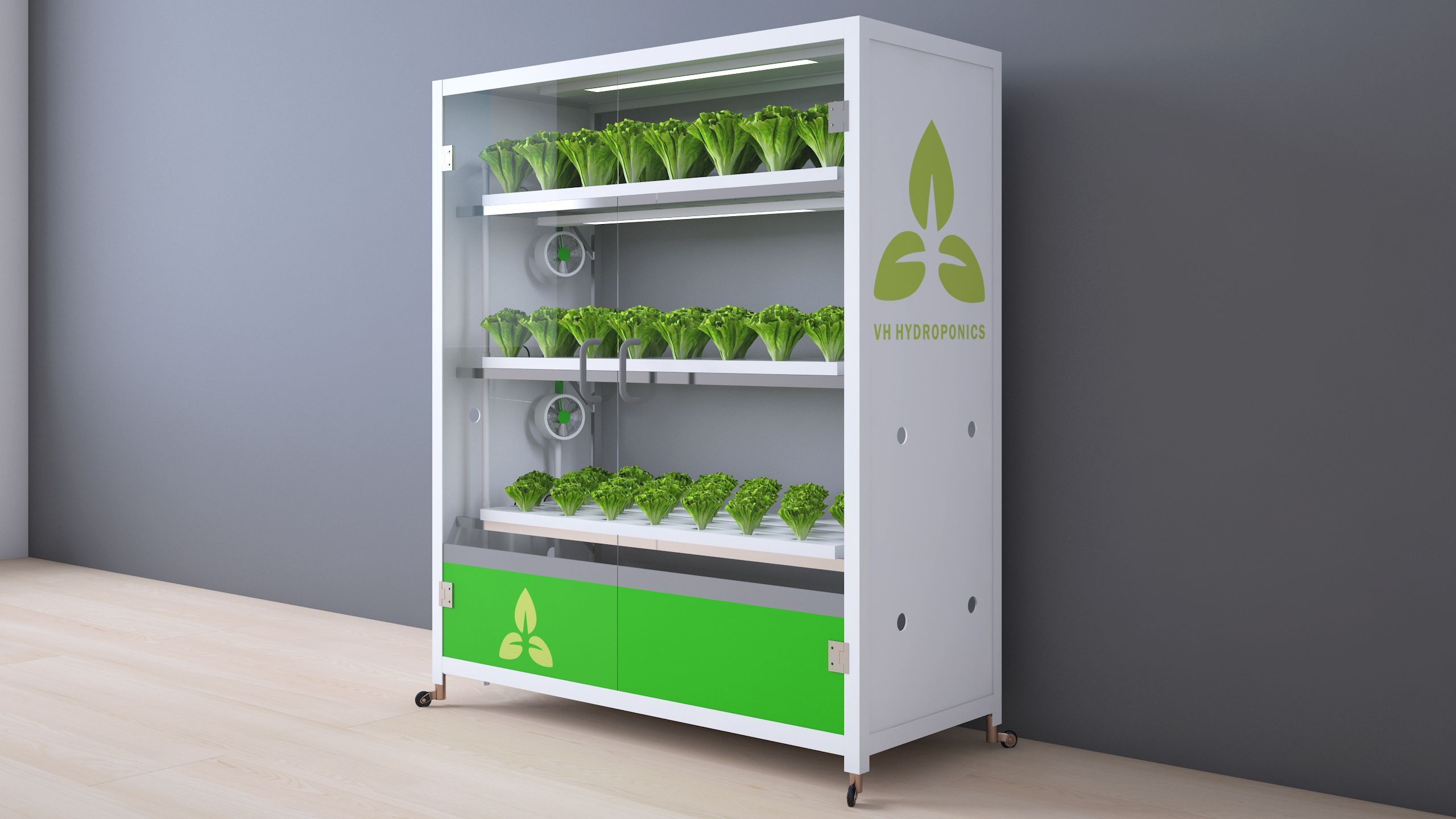 Hydroponic Indoor Gardening Cabinets For Home For Business