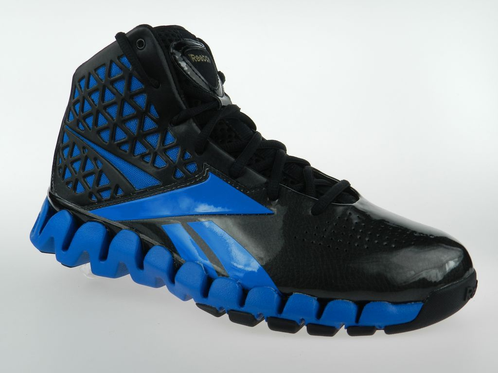 3b782cc47f92d REEBOK ZIG SLASH NEW Mens John Wall Zigtech Blue Black Basketball Shoes