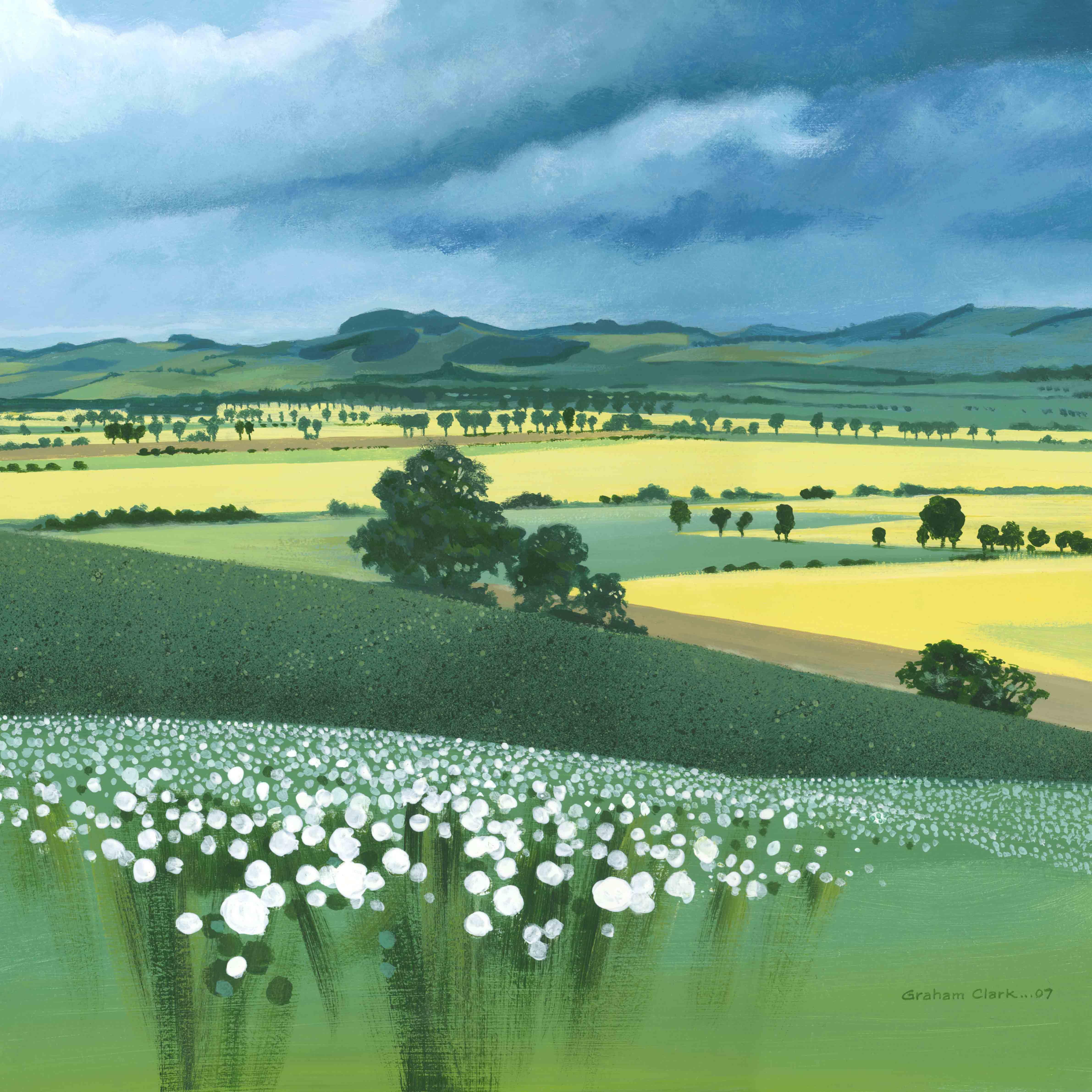 Kingdom of Fife by Graham Clark, Acrylic