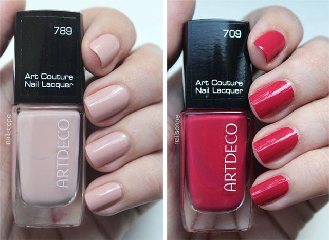 Artdeco Art Couture Nail Lacquer 789 709 Nailscope Artdeco Art
