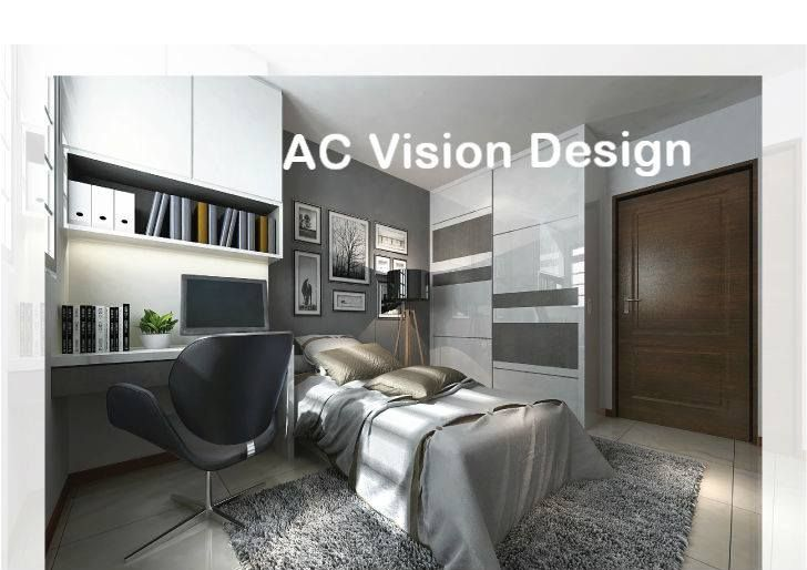 HDB 4-Room BTO Modern Contemporary @ Yishun - Interior Design ...