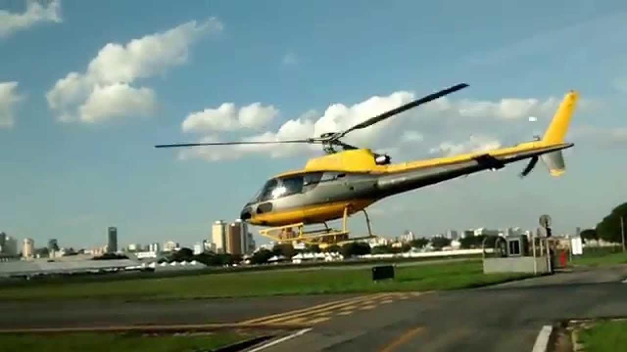 Helicóptero no Campo de Marte - 18.07.2015