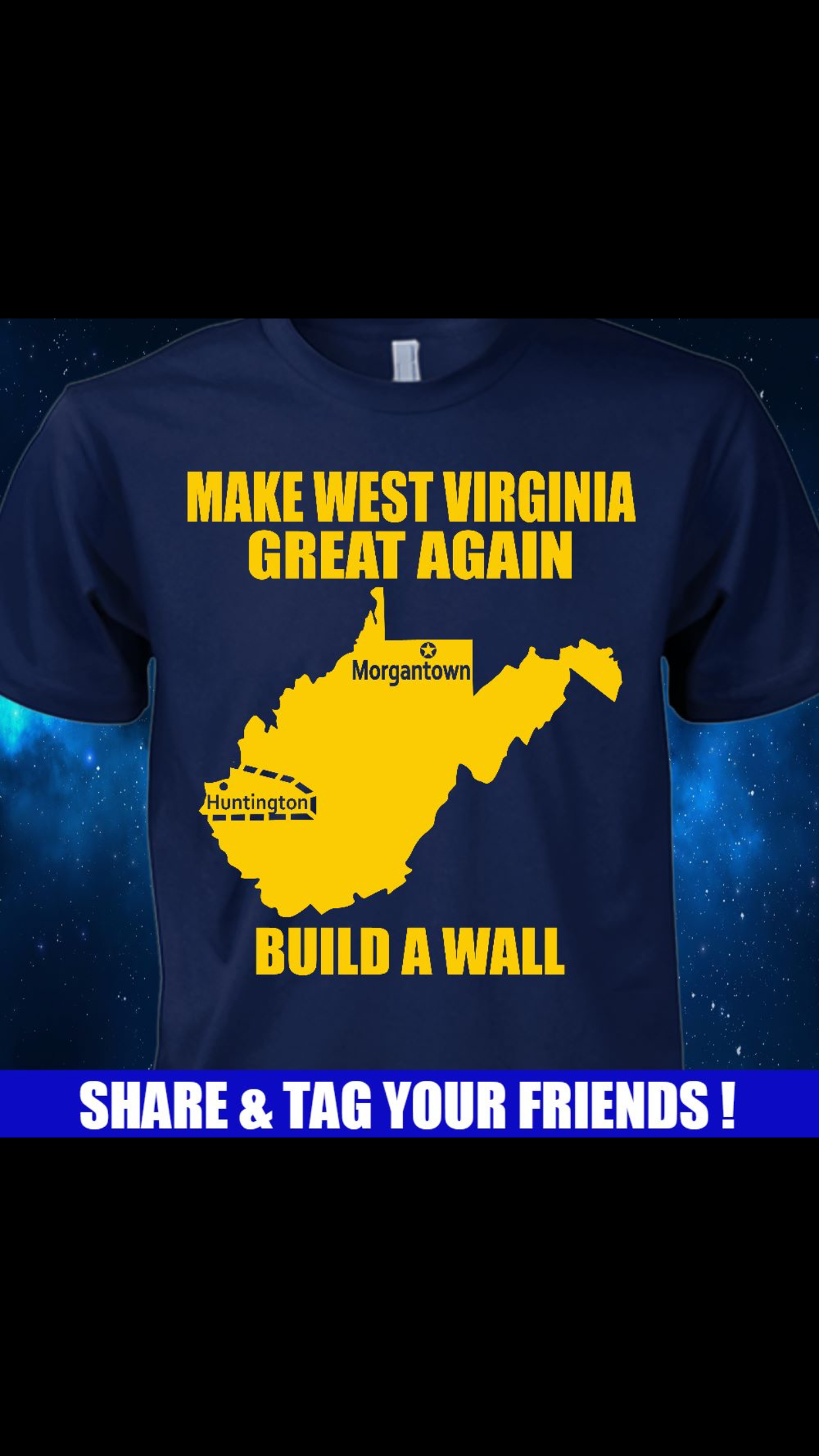The Great Wall of West Virginia
