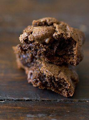 Triple Chocolate Espresso Bean Cookies Recipe #chocolatecoveredcoffeebeans