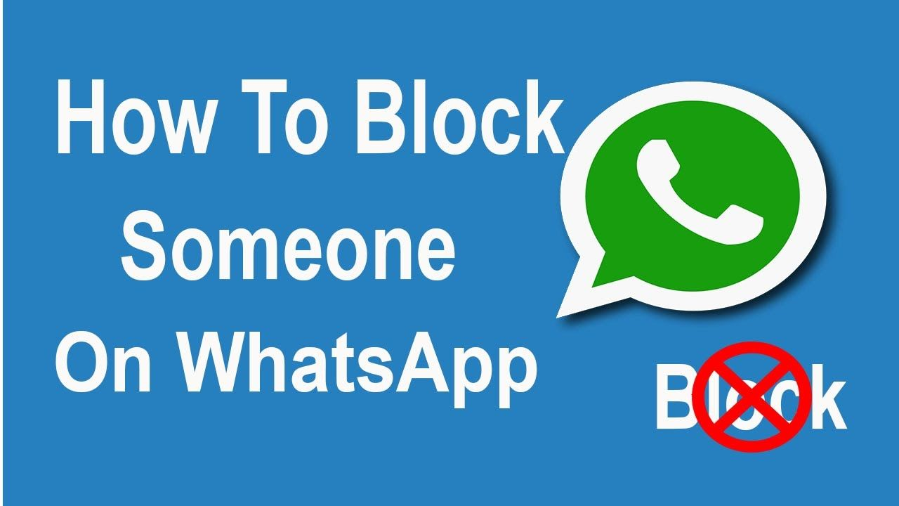 How to block or unblock whats app contact andrtoid phone