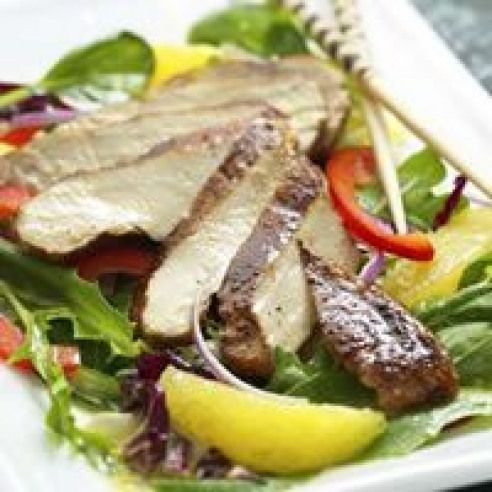Five Spice Chicken And Orange Salad Recipe Calories 278 Saturated