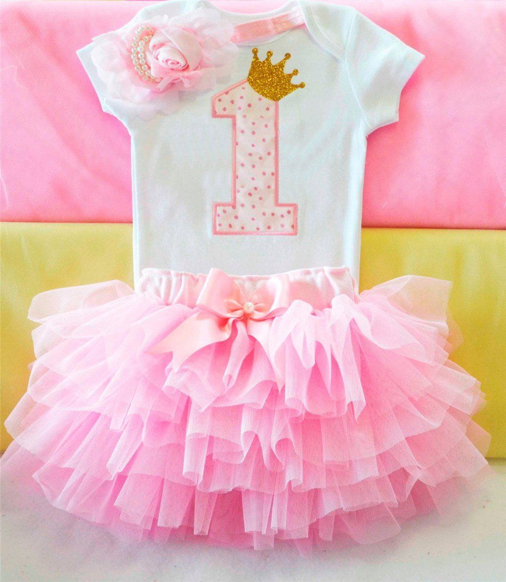 Baby Girl Unicorn Anniversaire Tenue de fête robe 3 ans