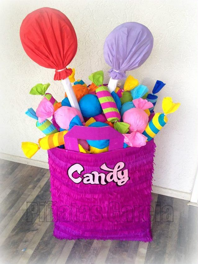 candy goodie bag piñata p i n a t a s in 2018