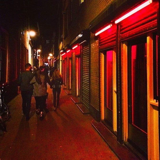 light prostitutes Red district