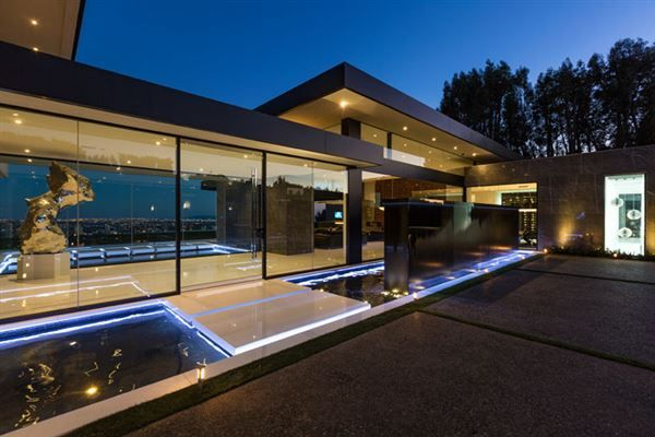 A modern masterpiece in bel air california luxury homes for Sale moderne