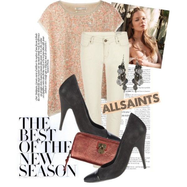 """""""AllSaints"""" by justsweet on Polyvore"""
