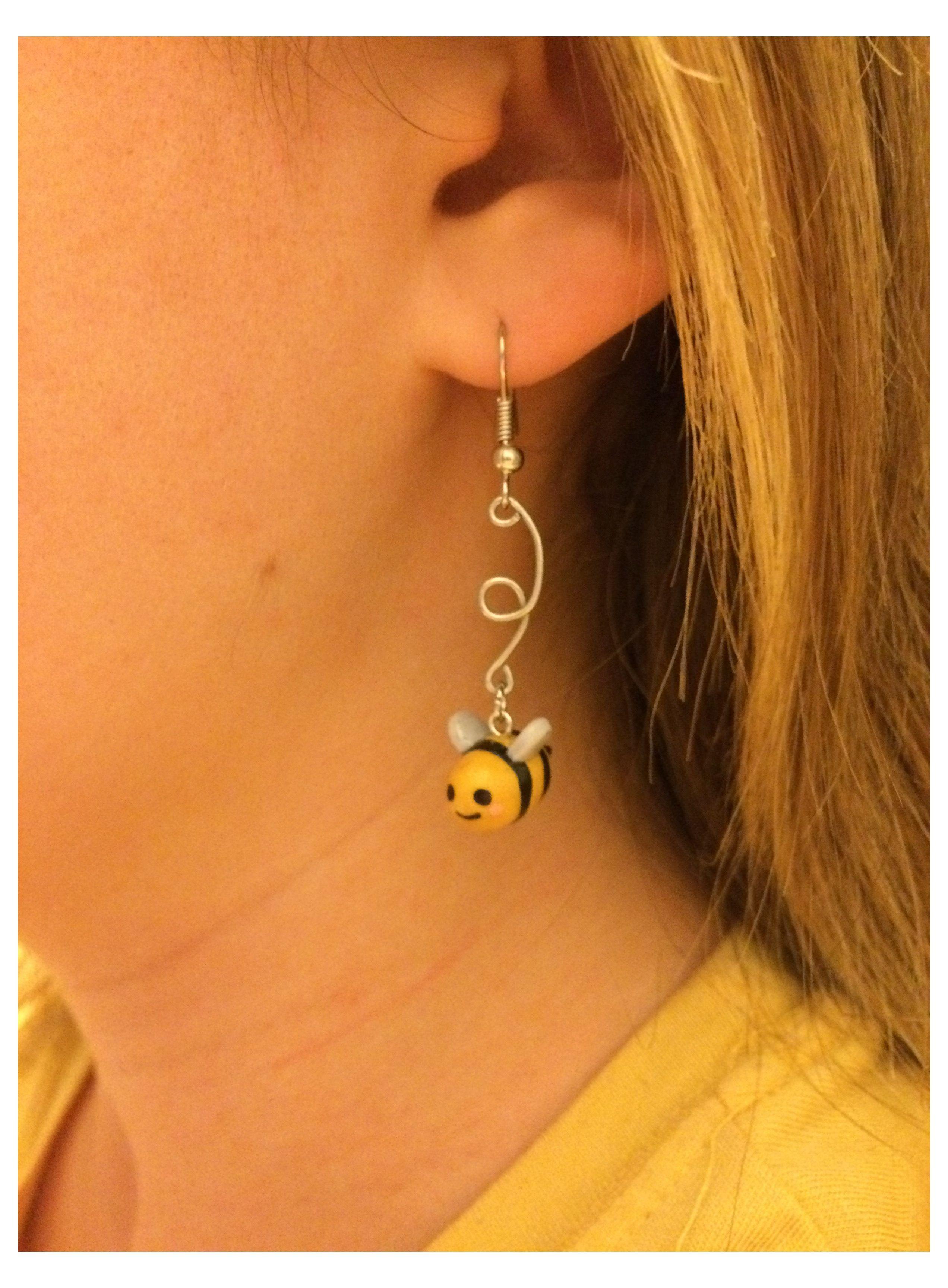 polymer clay earrings kawaii