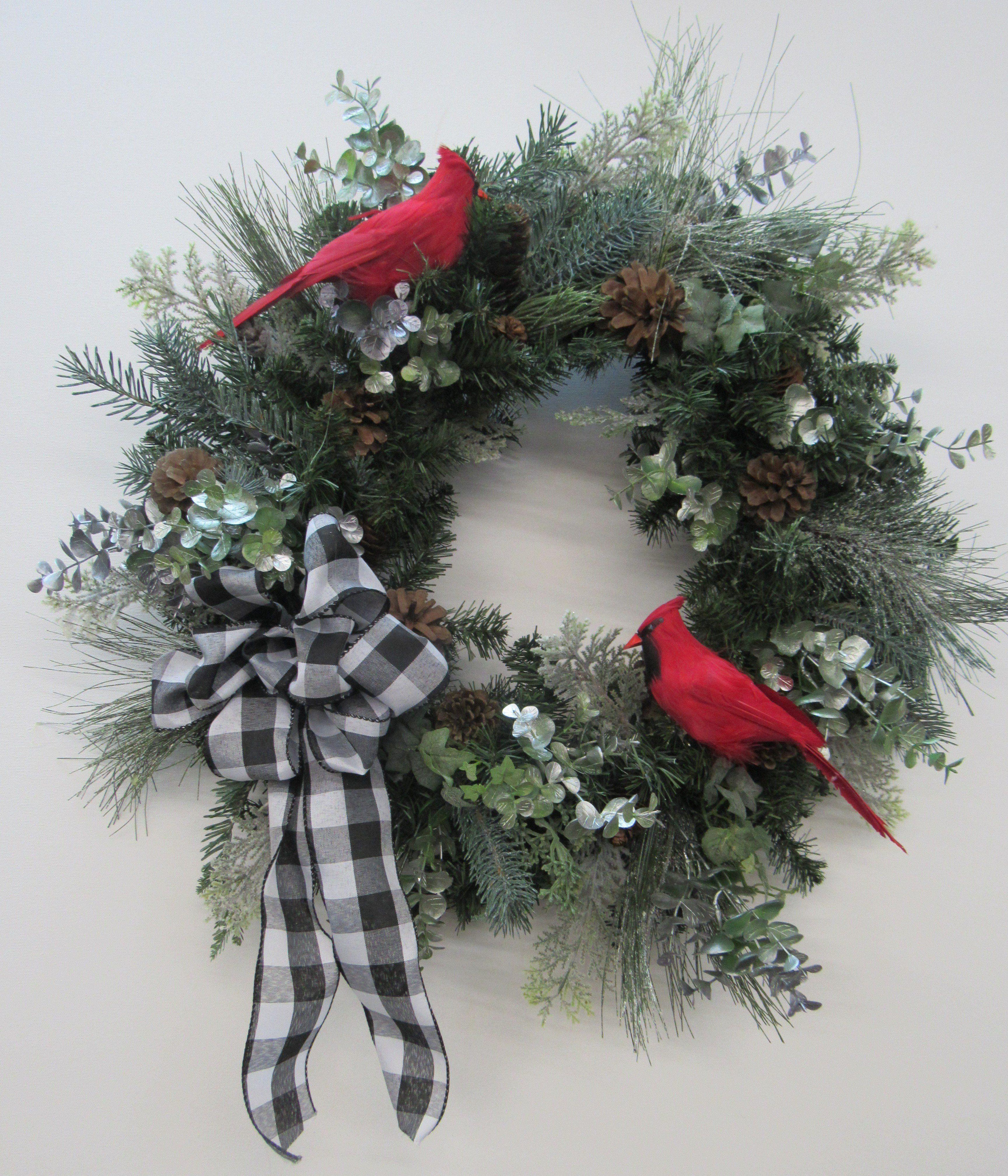 Gallery/Trans65 White christmas wreath, Christmas