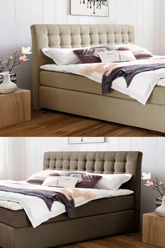 Schlafzimmer einrichten mit den modernen Boxspringbett Matai ...
