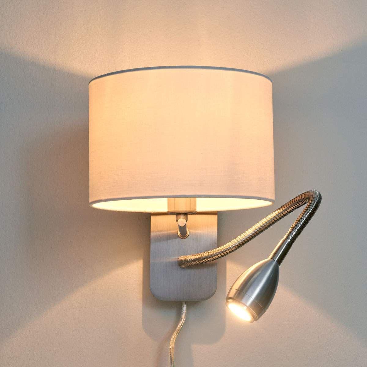Risa - kombinierte Wandleuchte mit Leselampe  Wandlampen