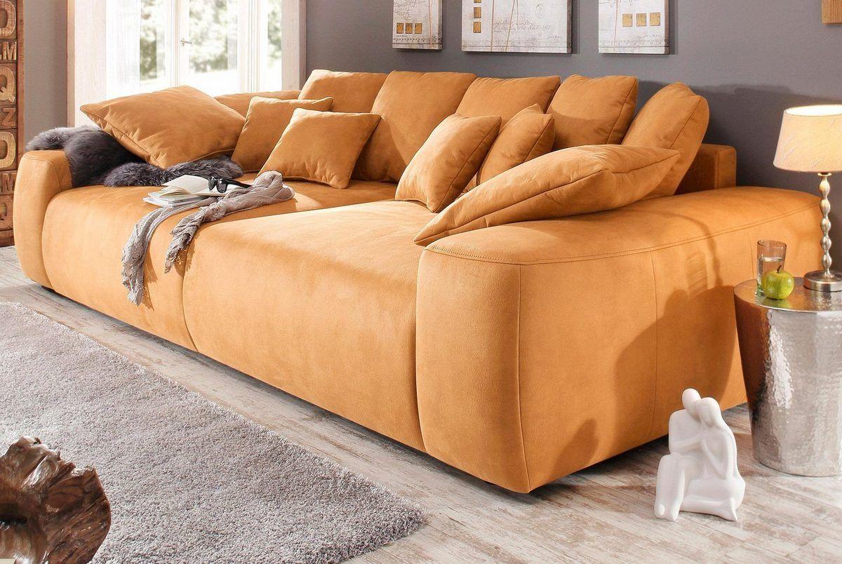 Home affaire Big-Sofa, Breite 302 cm, mit vielen losen ...
