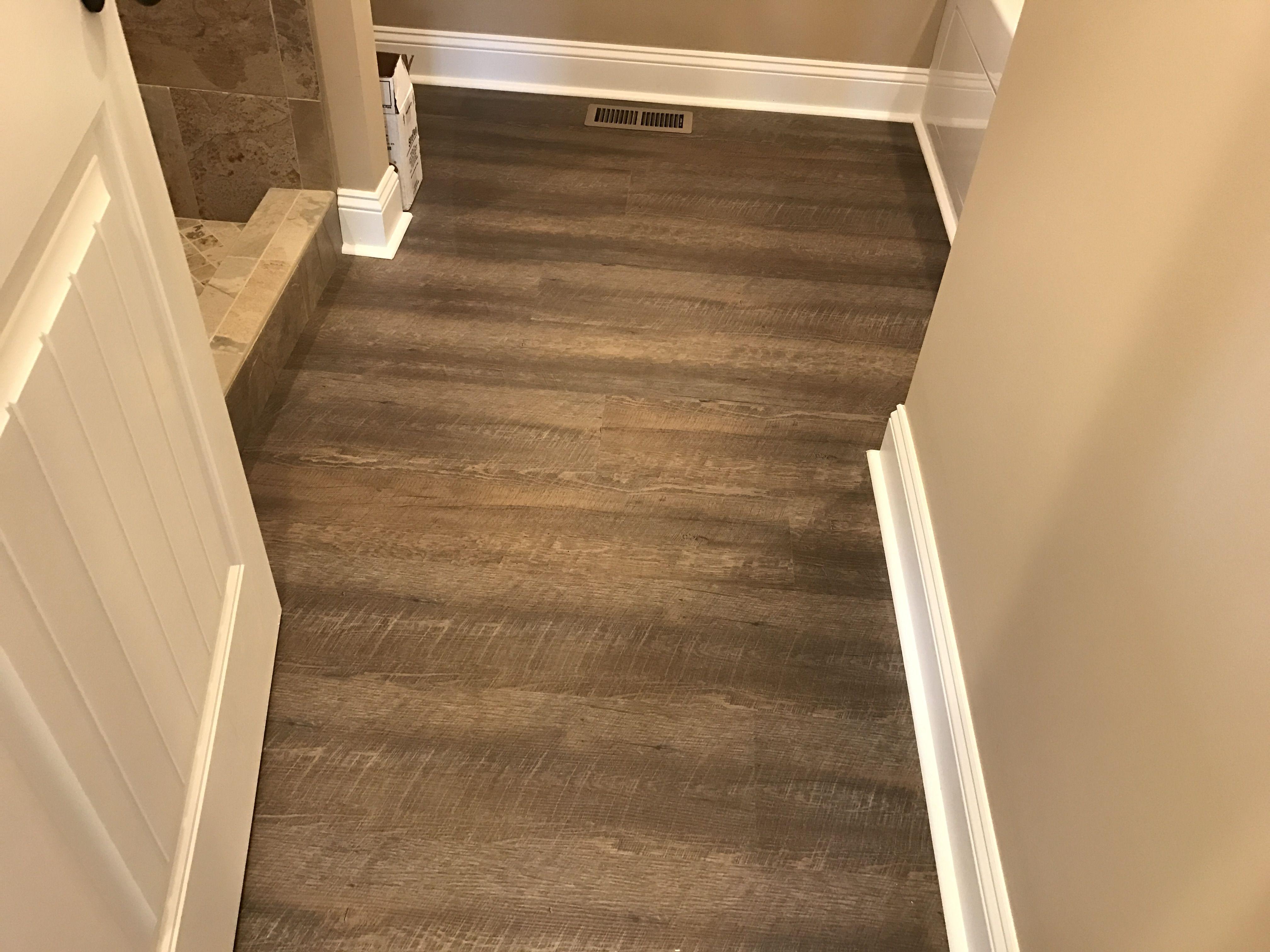 Coretec Plus Deep Smoked Oak Smoked Oak Floor Vinyl Plank Flooring Coretec Flooring