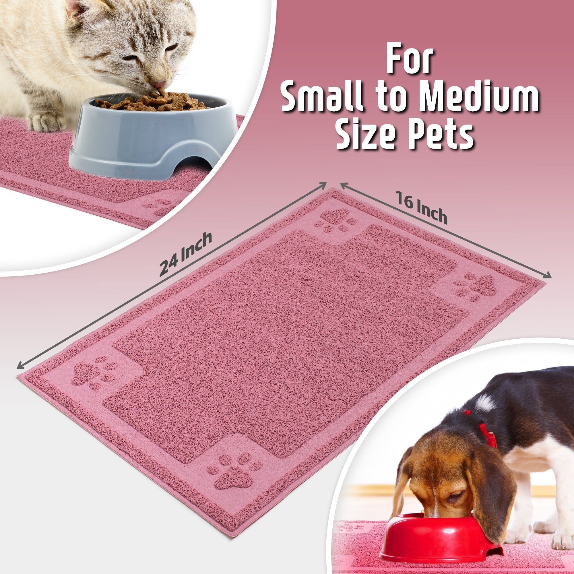 keep diy mat and normal your with far pets area pet feeding this slip easy from clean non to neat food make